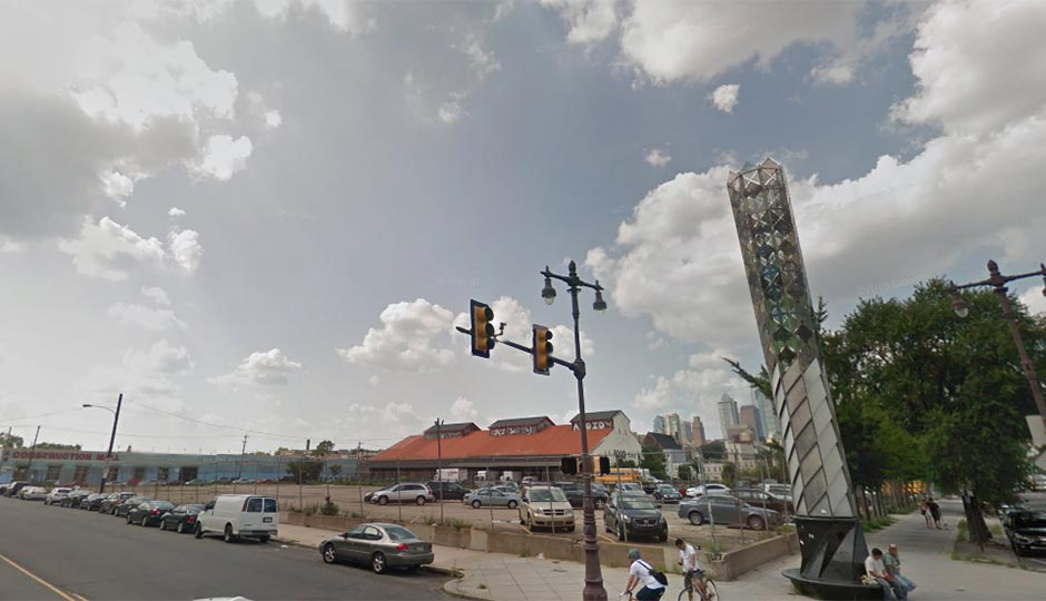 The northwest corner of Broad and Washington | Google Street View