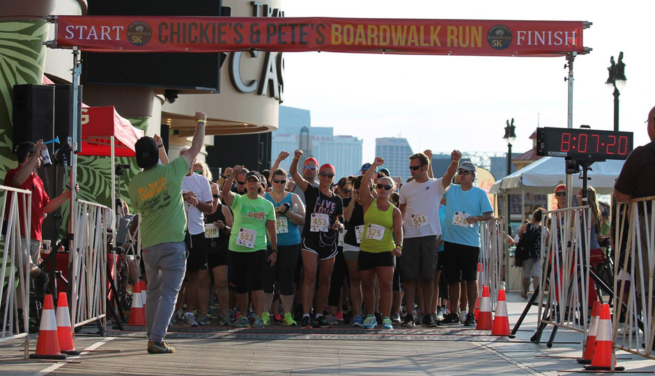Chickie's and Pete's Boardwalk Run   Photo via Facebook