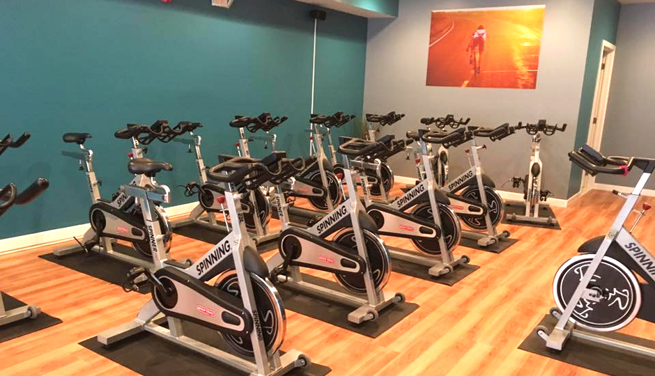 The Spin studio at Ciclo | Photo courtesy Mina Carroll