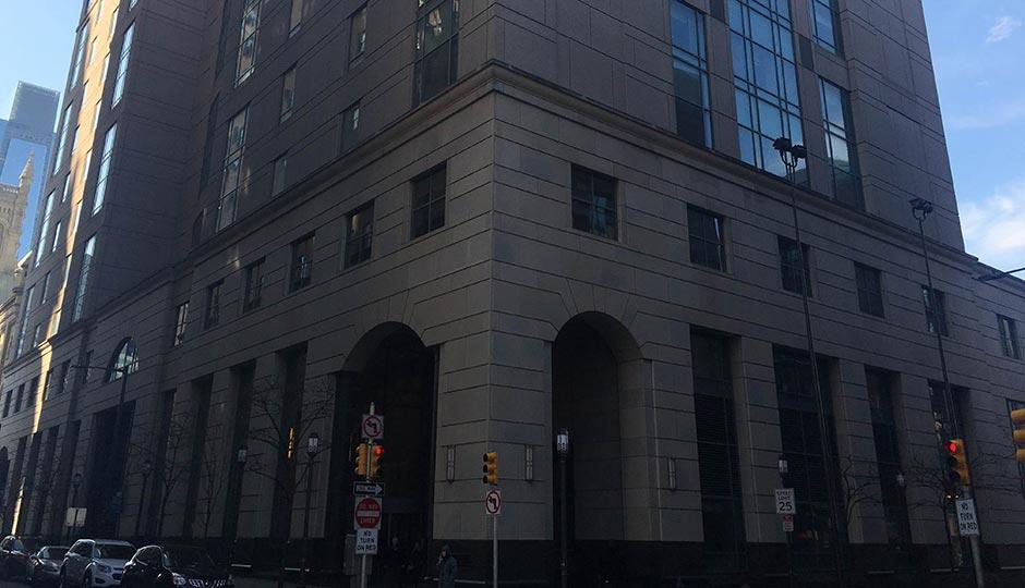 Philadelphia's Criminal Justice Center. Photo | Dan McQuade