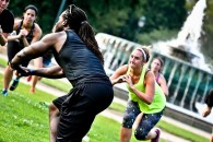 A Fit Academy boot camp class