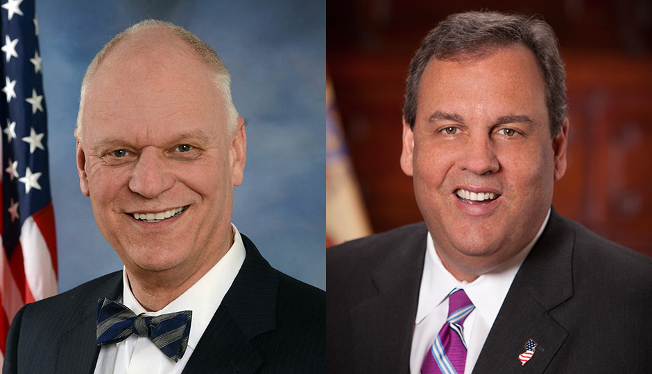 Don Guardian - Atlantic City mayor; Chris Christie - New Jersey governor