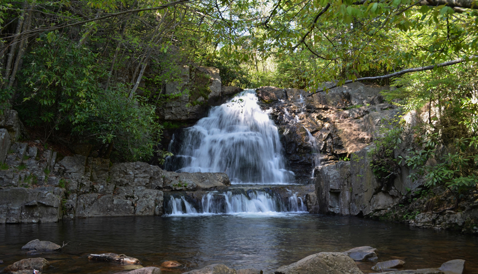 Hikes Near Philadelphia With Waterfalls and Gorgeous Views: Hawk Falls at Hickory Run State Park | Photo by Flickr user lousyfocus