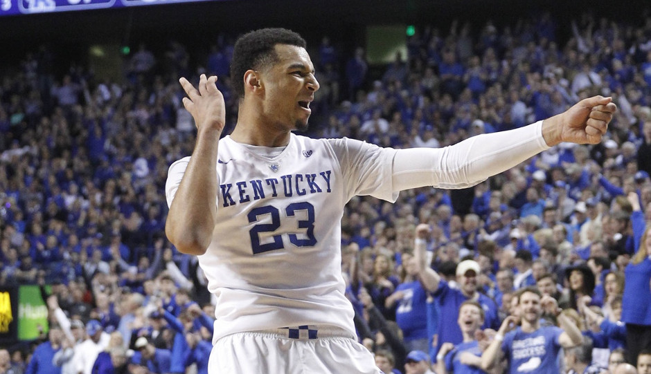 Jamal Murray's incredible shooting of late has the Kentucky guard rising up draft boards once again | Mark Zerof-USA TODAY Sports