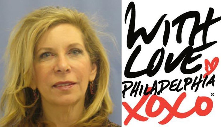 Joyce Levitt, Visit Philly logo