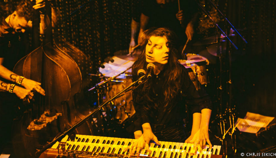 Julia Holter @ Johnny Brenda's [photo by Chris Sikich]