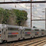 Northeast Corridor NJ Transit trains connect with SEPTA trains at Trenton. (Photo by Adam E. Moreira; used under a Creative Commons License