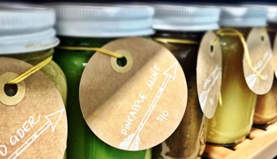 The Juice's Pineapple Mint blend | Photo via Instagram