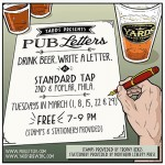standard tap pub letters 400
