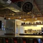 The bar at Stickman Brews