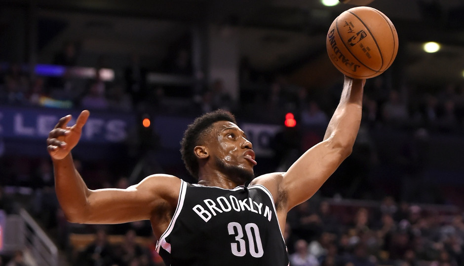 Former Sixers' forward Thaddeus Young is averaging 15.1 points per game for the Nets this year   Dan Hamilton-USA TODAY Sports