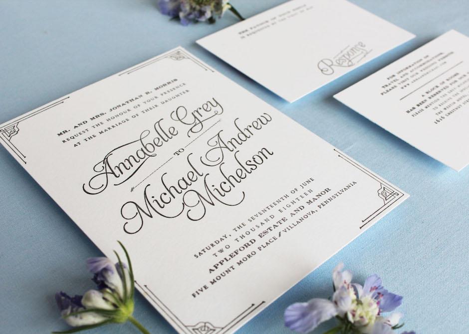 Annabelle invitation