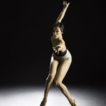 BalletX dancer Caili Quan. Photo by Alexander Iziliaev