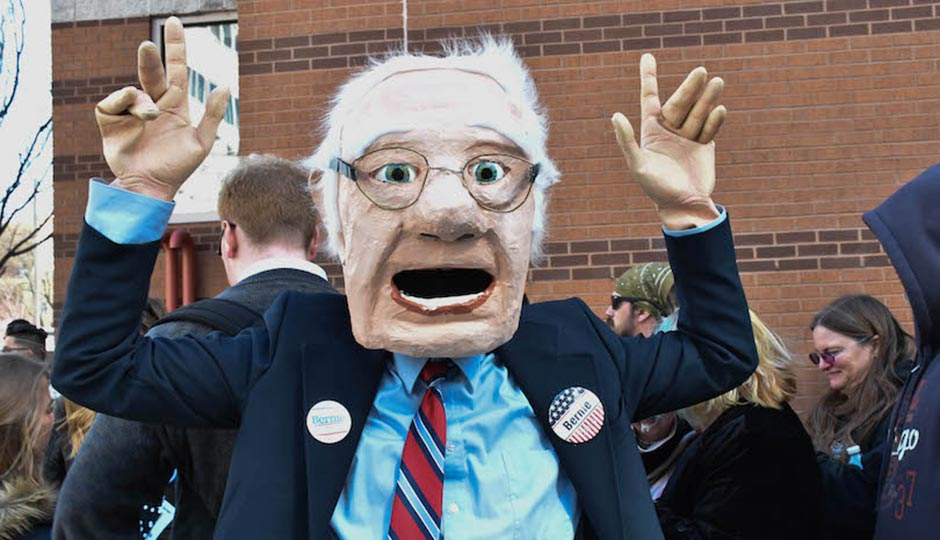 Bernie Sanders rally at Temple University. Photo   Mariam Dembele