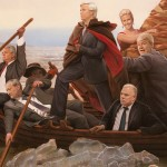 "Illustration by Tim O'Brien  |  10"" x 14""  