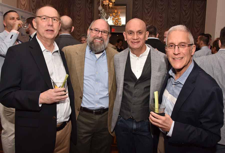 John Murphy, Tom Ayers, David Acosta and Jay Segel Photography by Hugh E. Dillon.