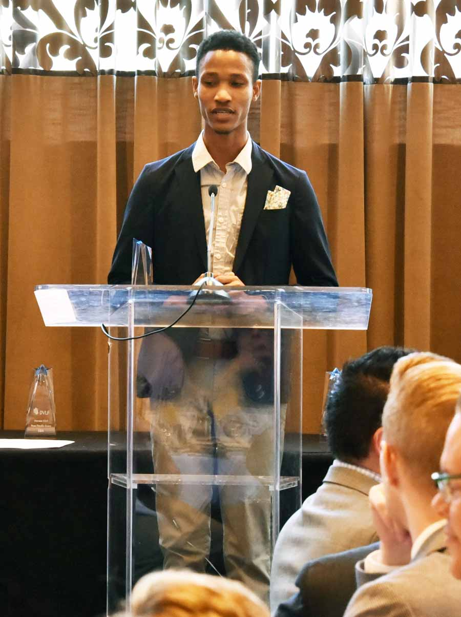 Youth HERO Award: Ibrahim Vicks is a leader at the Attic Youth Center. Photography by Hugh E. Dillon.
