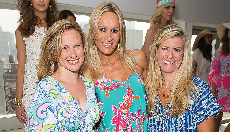 Lilly executives, from left: Michelle Kelly, Mira Fain and Janie Paradis. Photograph by Michael Stewart/Getty Images