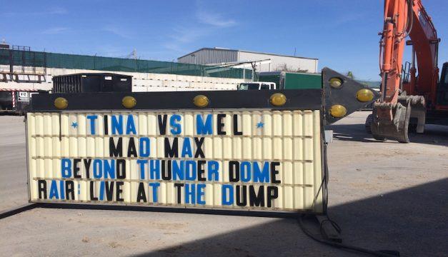 RAIR's Live at the Dump. Photo provided