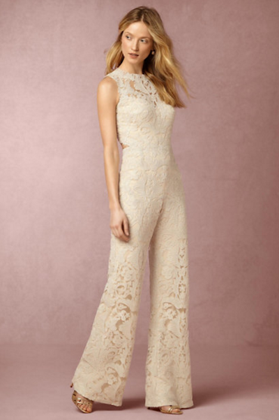 BHLDN's Coral Jumpsuit
