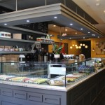 Here's a peek inside ICI Macarons & Cafe.