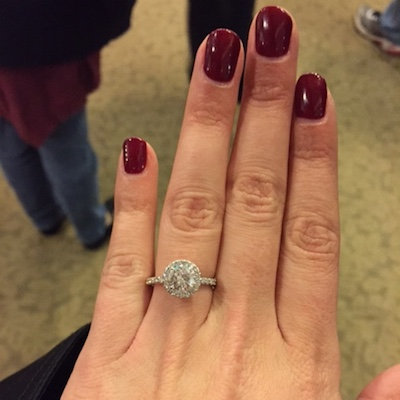 Dana's ring!