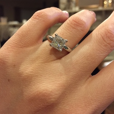 Stephanie's ring!