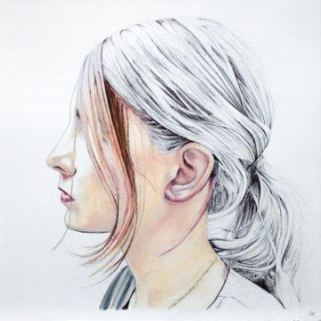 Lauren Rinaldi's drawings are at Paradigm Gallery. Photo provided
