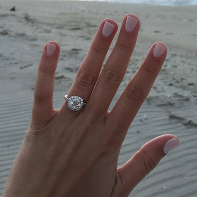Taylor's ring!