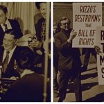 "Still images from the 1978 movie ""Amateur Night at City Hall: The Frank L. Rizzo Story."""
