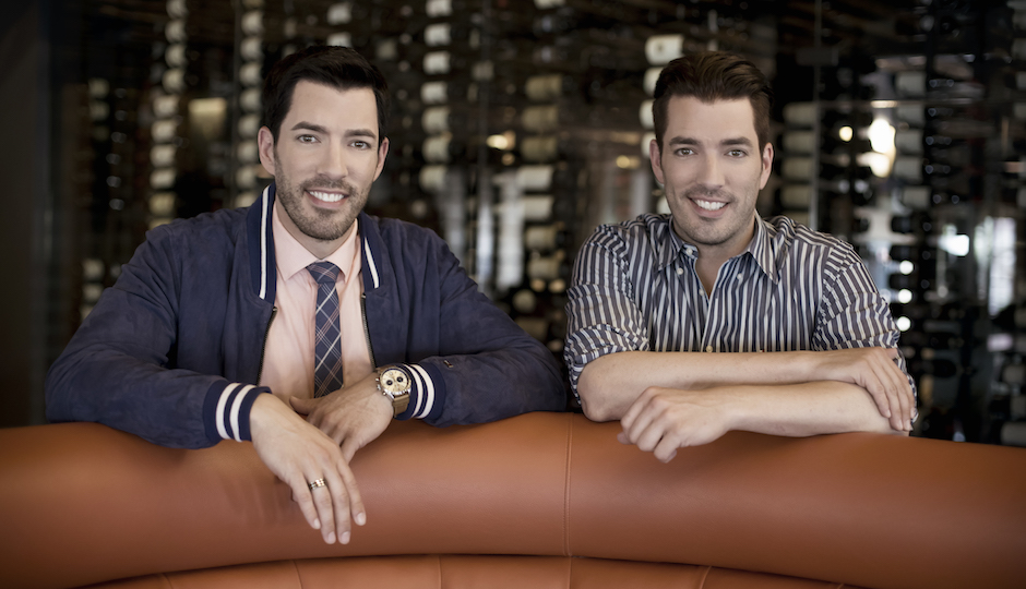 Drew (left) and Jonathan Scott, the Property Brothers | Photo by Dennys Ilic