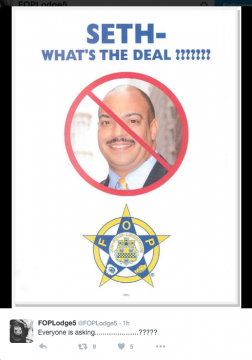 The Fraternal Order of Police Lodge No. 5 doesn't quite agree with the D.A.'s decision on the LeSean McCoy case.
