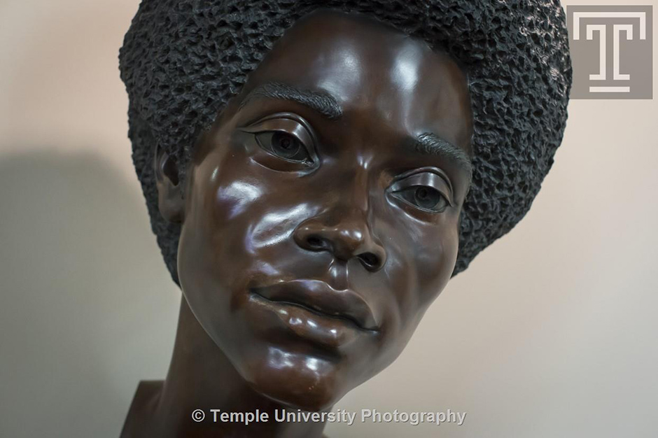 Dr. C. Redding-Lallinger, MD by sculptor Charles Cropper Parks (1922-2012) | Photo courtesy of Temple University