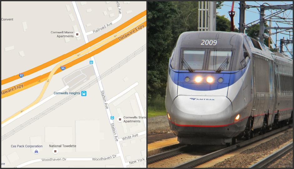 Left: Google Maps. Right: Shreder 9100 at en.wikipedia