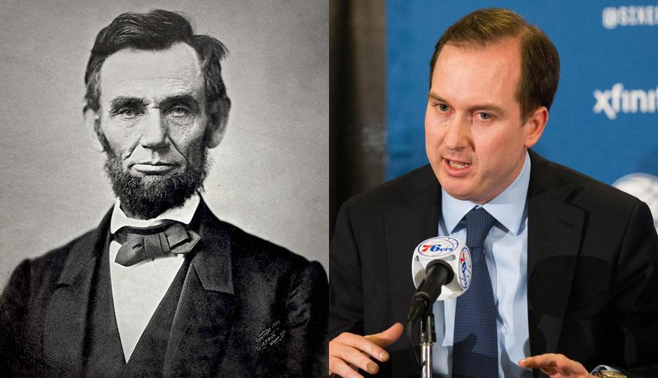 Abraham Lincoln, Sam Hinkie