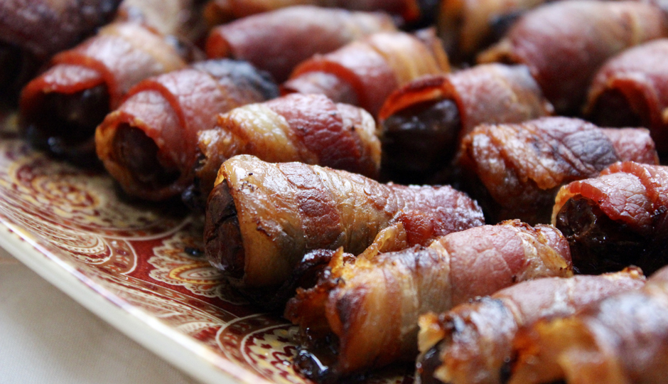 Bacon-Wrapped Dates   Photo by Becca Boyd