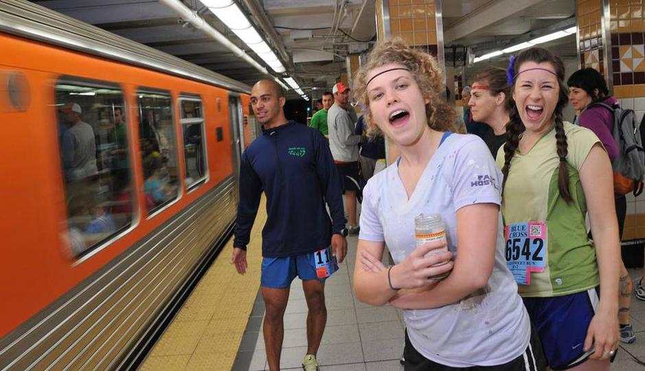 Wondering how to get to the Broad Street Run starting line? Keep reading. | Photo via Broad Street Run/Facebook