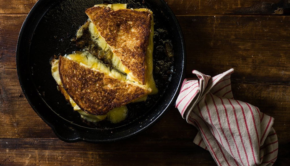 A grilled cheese from Di Bruno Bros. | Photo via Di Bruno Bros.