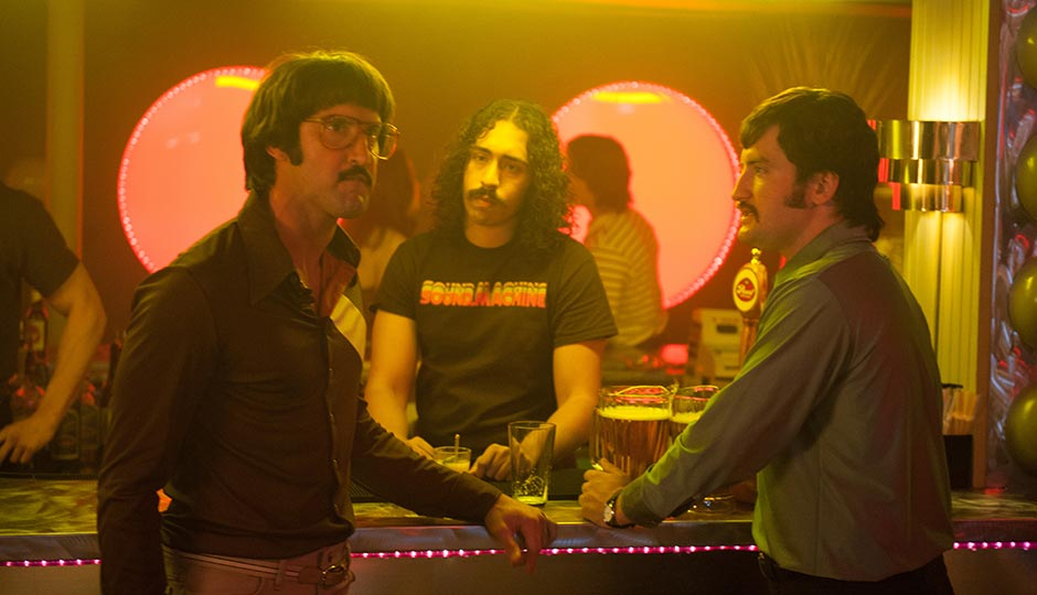 Juston Street (in glasses). Photo   Paramount Pictures