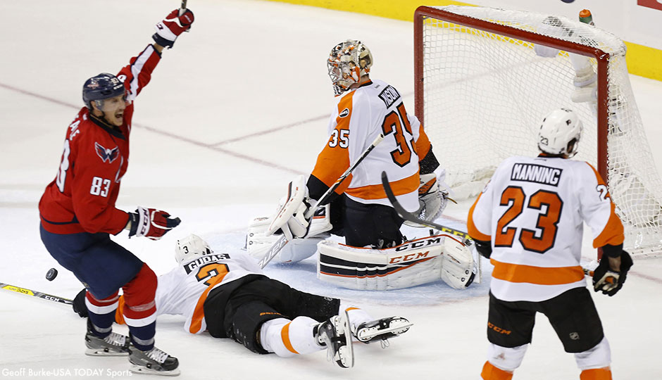 Flyers - goal game 1