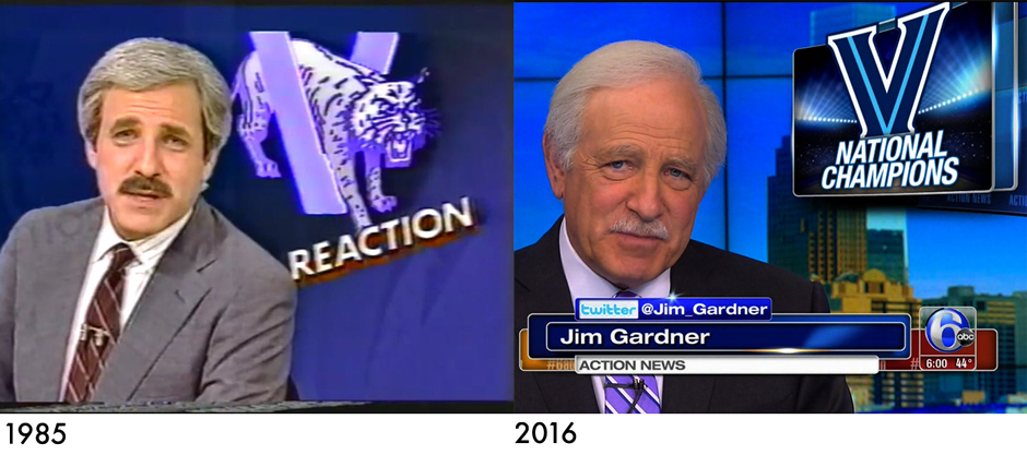 Jim Gardner - 1985 vs. 2016