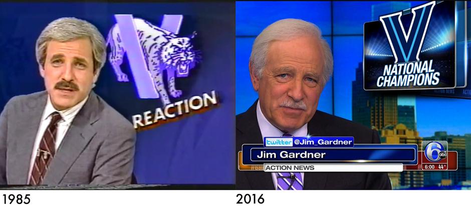 Jim Gardner - 1985 vs. 2016