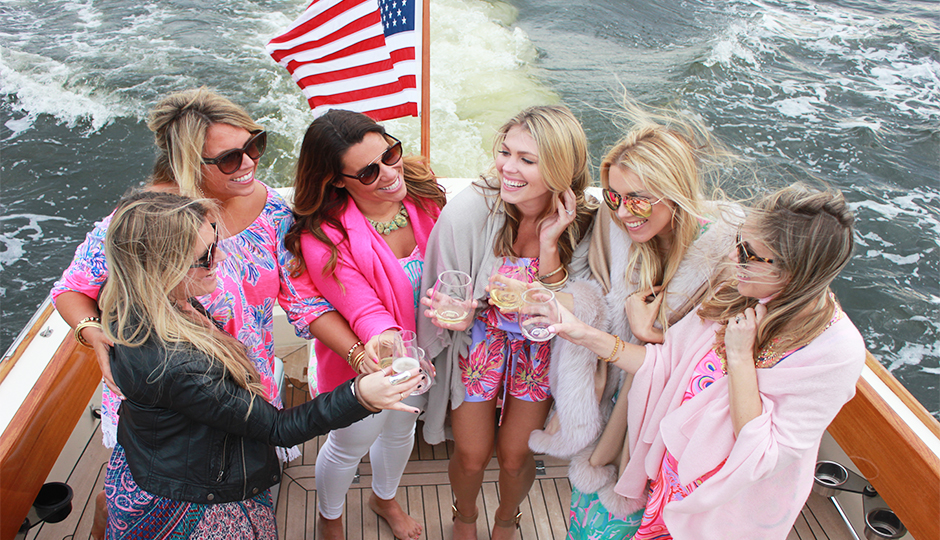 lilly pulitzer boat