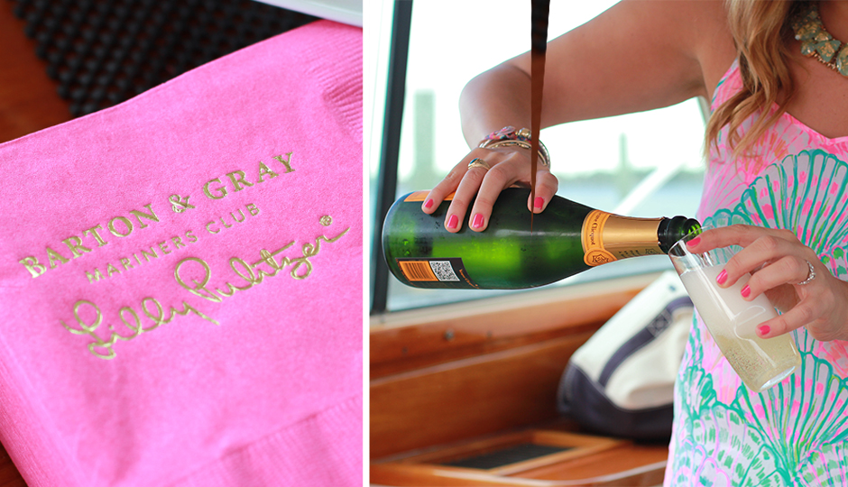 lilly pulitzer yacht detail
