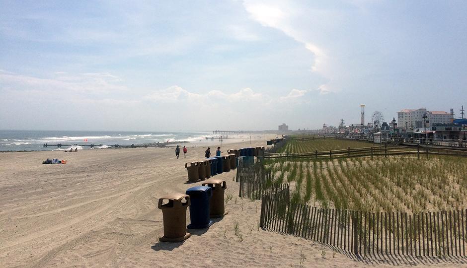 Ocean City beach