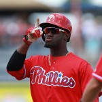 Philadelphia Phillies center fielder Odubel Herrera.