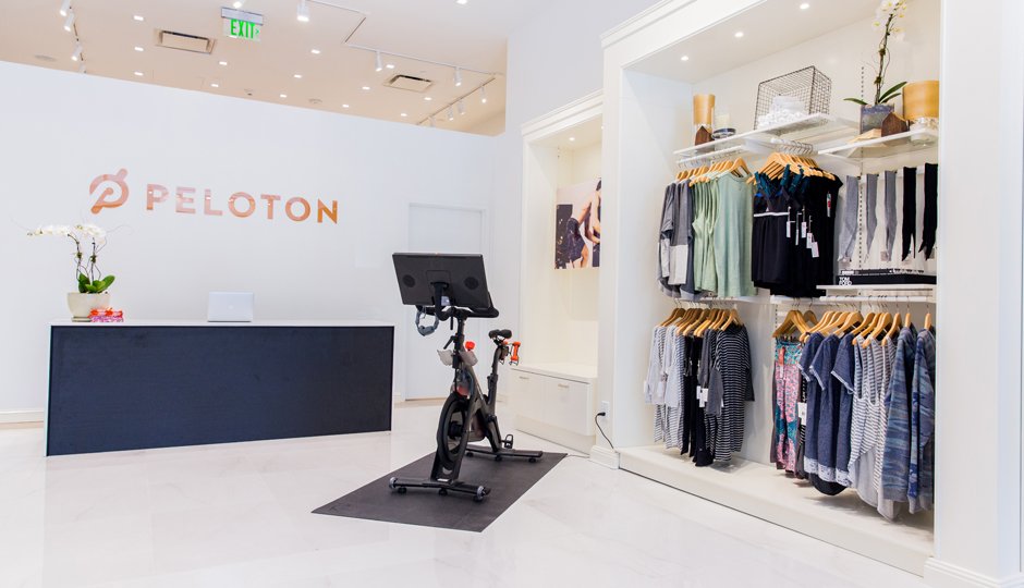 Peloton store in Manhasset, New York | Be Well Philly
