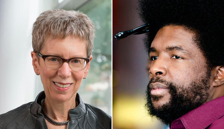 Terry Gross (Daniel Burke/Fresh Air), Questlove (Jeff Fusco)