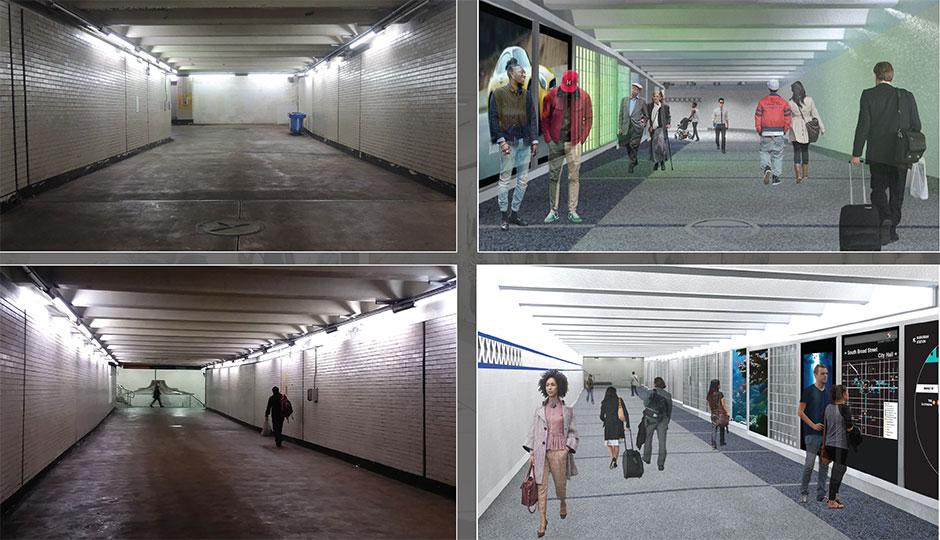 SEPTA - concourse new renderings