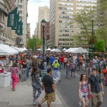 The Rittenhouse Row Festival |Photo via Rittenhouse Row